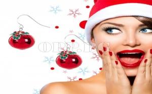 Страхотни Коледни Обеци