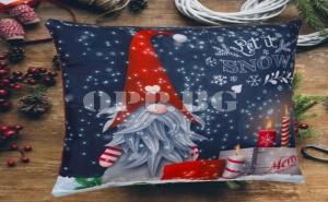 Красива Възглавница Коледно Джудже