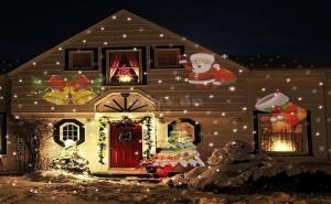 Декоративен Лазерен Прожектор Коледни Фигурки