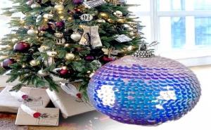 Блестяща Коледна Топка от Пайети