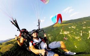 Тандемен полет с парапланер от склон от Витоша + видеозаснемане от фирма Полети и приключения