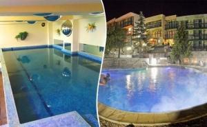 Хоум офис и релакс в хотел Виталис, Пчелиснки бани! 7 нощувки със закуски и вечери за ДВАМА + външен и вътрешен басейн с гореща минерална вода и сауна