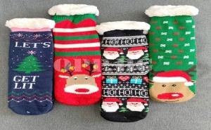 Супер Топли Ватирани Пухести Чорапи за Деца