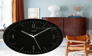 Кръгъл Стенен Часовник в Модерен Стил