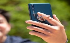 Лепяща се Стойка за Мобилен Телефон с Двойна Функция