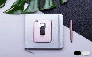 Самозалепваща Стойка за Телефон с Текстилна Халка