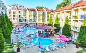 Ранни Записвания за Лято 2021! 3, 5 или 7 Нощувки на База All Inclusive на човек + Басейн в Хотел Сън Сити, <em>Слънчев бряг</em>. Дете до 13Г. - Безплатно