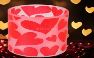 Романтична Led Свещ Сърца