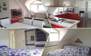 Нощувка за четирима + топли напитки, сауна и джакузи в напълно оборудван и обзаведен апартамент от Сажитариус, Кюстендил