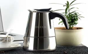 Кафеварка за 6 Кафета Инокс Espresso Maker
