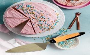 Лопатка за Торта с Пластмасова Дръжка