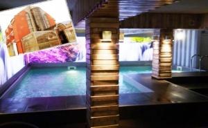Нощувка на човек със Закуска + Басейн и Релакс Зона в Реновирания Хотел Виа Лакус, <em>Сапарева Баня</em>!