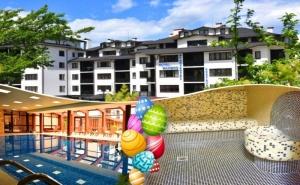 Великден в Банско! 3 нощувки на човек на база All inclusive light + отопляем вътрешен басейн и релакс зона от хотел Роял Банско Апартмънтс. Дете до 12 г. - безплатно