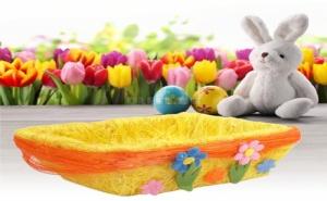 Декоративно Великденско Панерче с Цветя