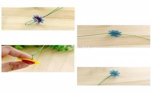 Забавен Творчески Комплект Направи си Сам Букет Цветя