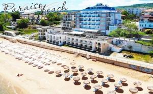 Нощувка на човек на База All Inclusive + Басейн, Чадър и Шезлонг на Плажа на 1-Ва Линия в Хотел Парайзо Бийч, <em>Обзор</em>