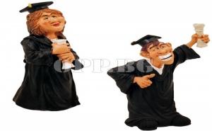 Забавна Статуетка Дипломиране