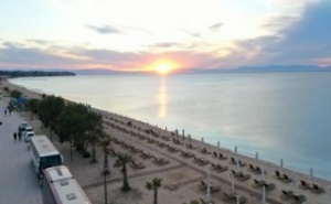 Wellness Santa beach hotel 5*- пясъчен плаж в Agia Triada – Солун