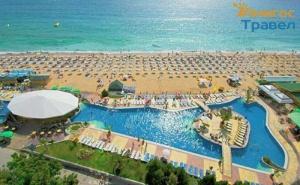 Семейна All Inclusive Почивка с Безплатни Чадър и Шезлонг на Плажа или Басейна в Хотел Морско Око Гардън - <em>Златни Пясъци</em>!  /12.07.2021 г. - 25.08.2021 г./