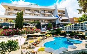 5 Нощувки на човек на База All Inclusive + Басейн на 50 М. от Плажа в Хотел Кавказ Голдън Дюн****, <em>Слънчев бряг</em>