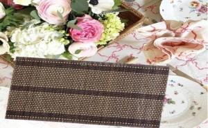 Плетена Подложка за Хранене от Бамбук