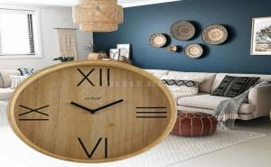 Уникален Дървен Стенен Часовник Versa