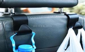 Сет 4 Броя Закачалки за Седалка на Автомобил