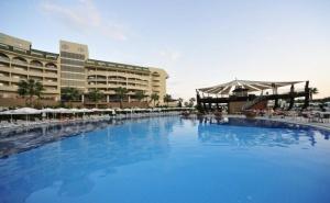 Почивка през Юни и Юли в Сиде, Турция. Чартърен Полет от <em>София</em> + 7 Нощувки на човек на База All Inclusive в Amelia Beach Resort Hotel & Spa 5*