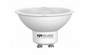 Двуцветна Крушка за Лампа Silver Electronics Eco Gu10 4W