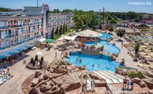 Нощувка на човекна База All Inclusive + Басейн и Аквапарк в Хотел Котва****, <em>Слънчев бряг</em>