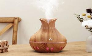 Usb Овлажнител с Дизайн на Ваза Vase Design Usb Humidifier