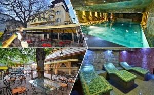 Нощувка на човек със Закуска и Вечеря + Басейн и Релакс Зона с Минерална Вода от Хотел България, Велинград