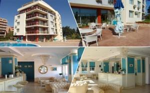 Нощувка на човек в Апартамент с Гледка Море + Закуска + Басейн в Хотел Руби, <em>Слънчев бряг</em>
