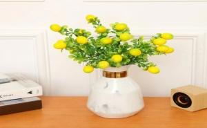 Декоративен Букет Мини Лимони 1Branch Artificial Lemon