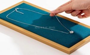 Правоъгълен Органайзер за Бижута Възглавничка 1Pc Rectangle Jewelry Tray