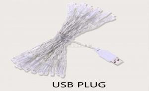 Декоративни лампички с USB порт 40pcs Bulb Copper String Light