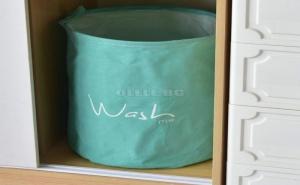 Ментово Зелен Кош за Пране Wash Me