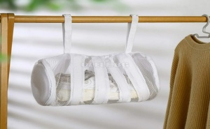 Мрежест Калъф за Пране на Обувки с Дръжки за Лесно Сушене