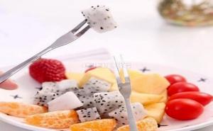 Комплект 10 Броя Вилички за Плодове и Хапки