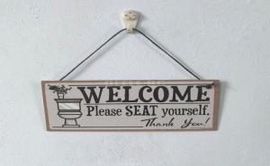 Декоративна Табела Welcome