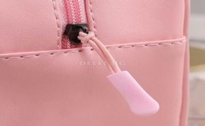 Розова Козметична Чанта с Дръжки Слонче