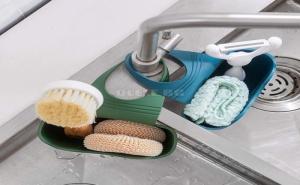 Цветен Органайзер за Кухненска Чешма със Забавен Дизайн